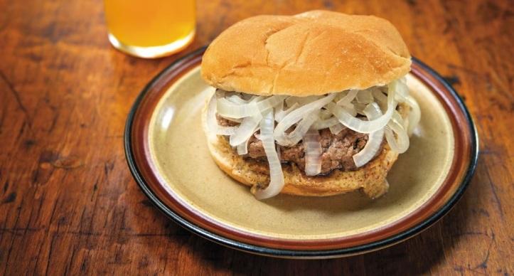 Poached Burger