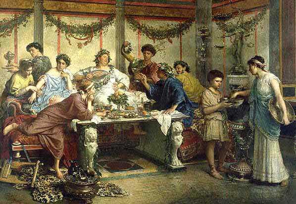 antik roma yemek kültürü